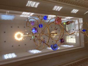 Verlichting ontworpen door Michel van Overbeek